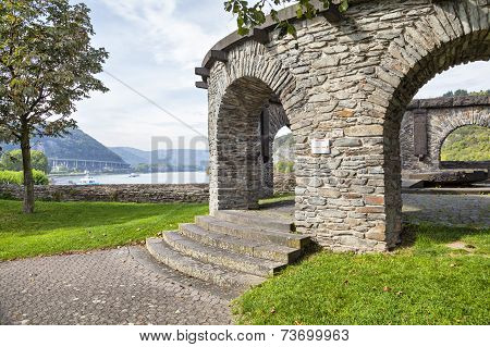 Bulwark - Historical Customs Station In Andernach, Germany