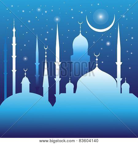 beautiful mosques and minarets
