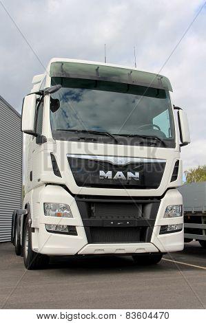 White MAN TGX 26.480 Euro 6 Truck Tractor
