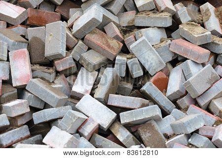 Heap Of Bricks