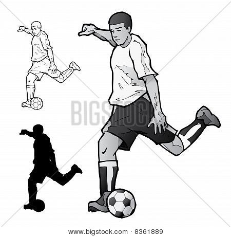 Vector Soccer Player.eps