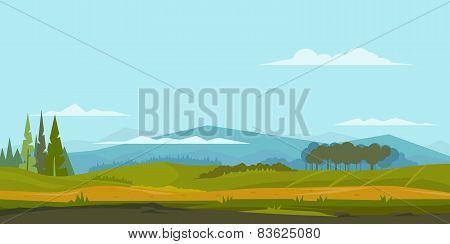 Nature Landscape Background