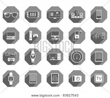 Vector Illustration Of Smart Devices