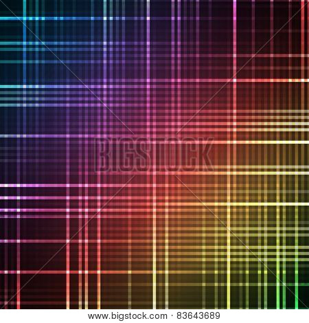 Abstract bright spectrum wallpaper. Vector illustration.