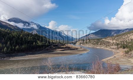 Fraser River near the Town of Lytton