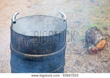Smoking Scalding Pot