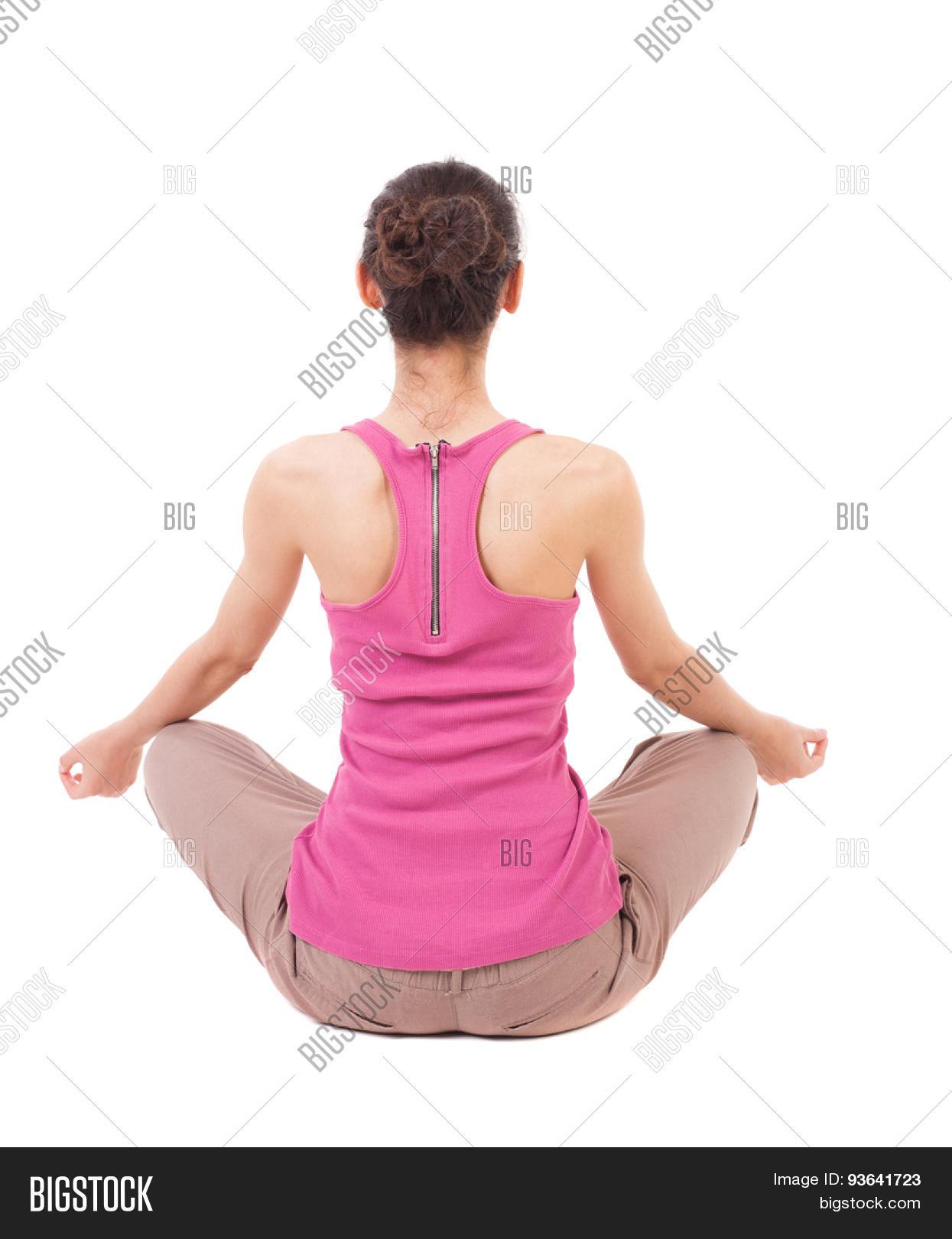 Back View Girl Sitting Image & Photo (Free Trial) | Bigstock