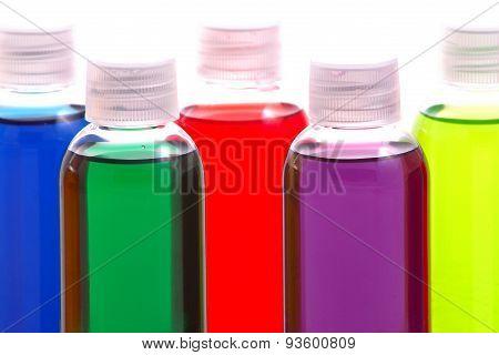 Colorful Chemical Samples