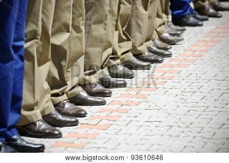 Military Uniform Detail