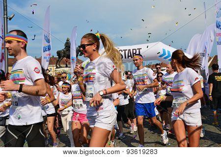Color Run Start