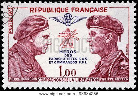 Bourgoin And Kieffer Stamp