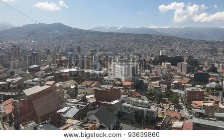 Cityscape Of La Paz, Bolivia