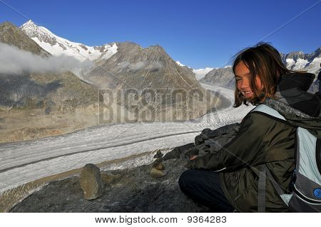 Hiking the Aletsch