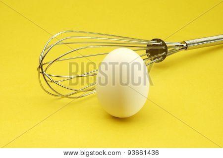Egg On Yellow