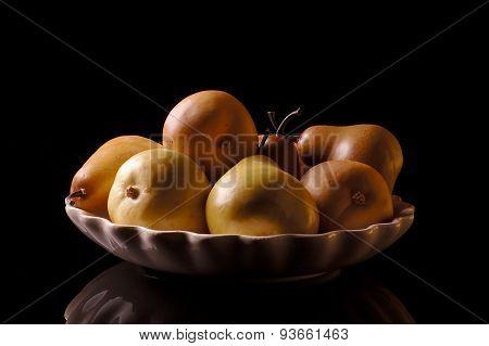 Pears Still Life