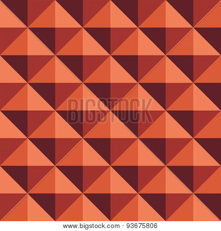 Seamless rhombic brown background