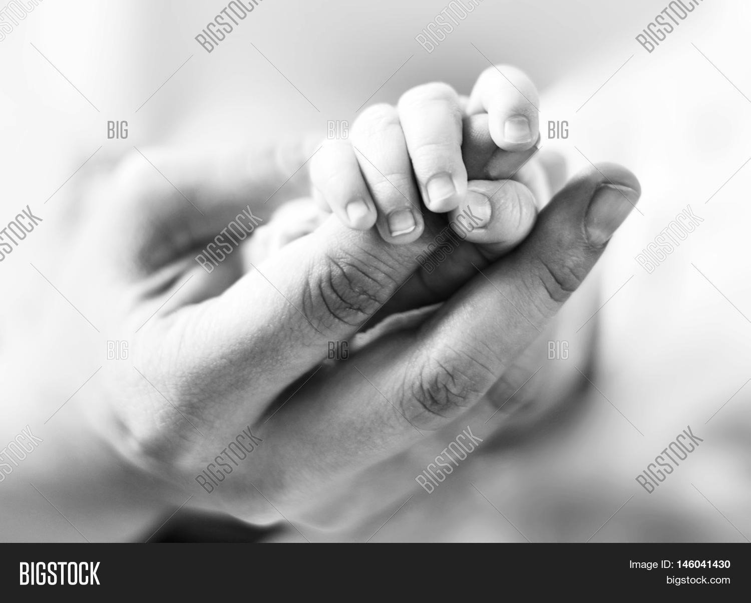 Baby Holding Mothers Image Photo Free Trial Bigstock