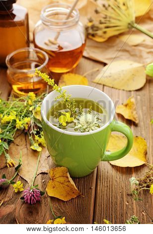 healthy herbal tea, home remedy