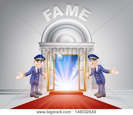 Red Carpet Door To Fame