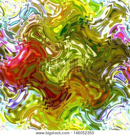 Abstract background of the abstract gradient with cubism,light effect,wave,distortion effect and pinch effect