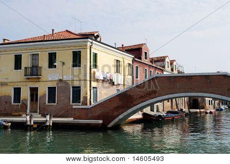 Bridge In Murano (venice).