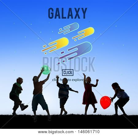 Galaxy Astronomy Exploration Nebular Concept
