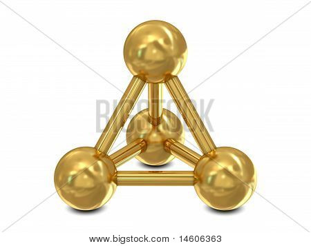 Molecular golden structure