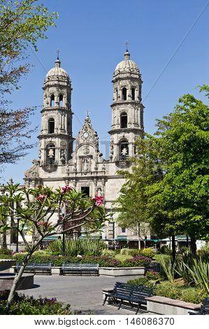 The Basilica de Zapopan Monument Jalisco Mexico