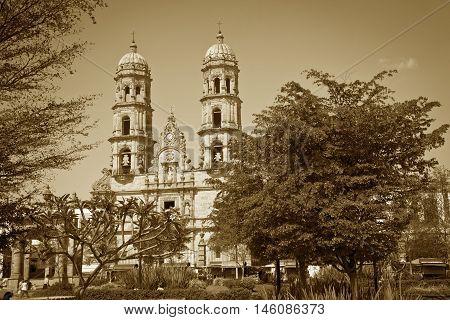 A Beautiful Monument of Guadalajara Jalisco Mexico