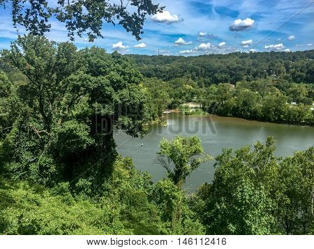 View of the Potomac River from the Hill