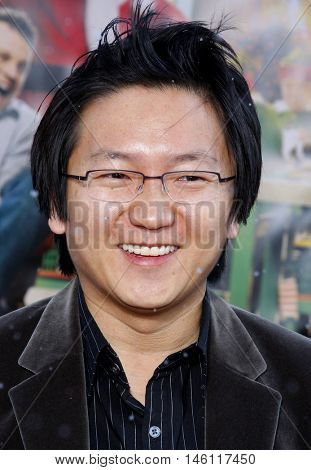 Masi Oka at the World premiere of 'Fred Claus' held at the Grauman's Chinese Theater in Hollywood, USA on November 3, 2007.