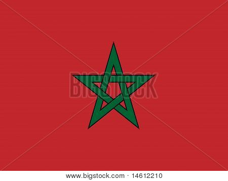 Morocco National Flag