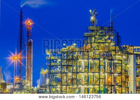 Industrial Chemical Plant Framework Detail