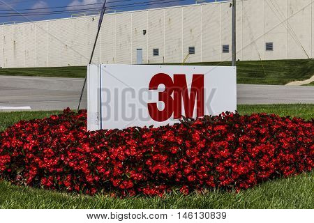 Indianapolis - Circa September 2016: 3M Plant. 3M Indianapolis is a Personal Safety Division facility that manufactures varieties of hearing protection III