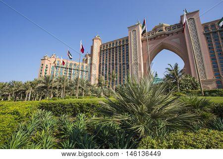 Atlantis Hotel In Dubai, Uae