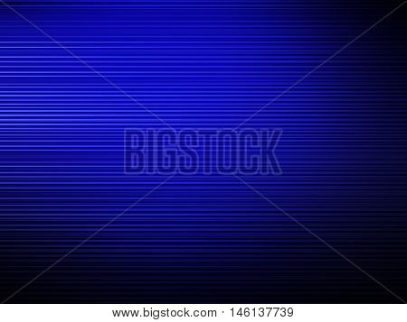 Abstract blue background with blurred lines, holday card.