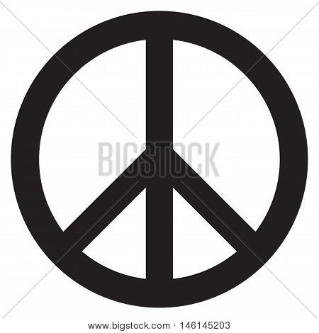 Peace symbol sign war cod pacifism hippy