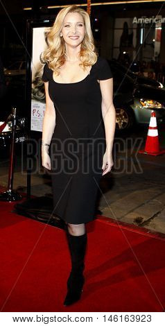 Lisa Kudrow at the World premiere of 'P.S. I Love You' held at the Grauman's Chinese Theater in Hollywood, USA on December 9, 2007.