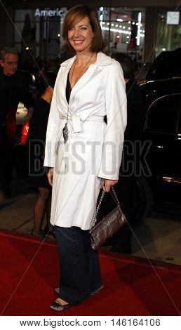 Allison Janney at the World premiere of 'P.S. I Love You' held at the Grauman's Chinese Theater in Hollywood, USA on December 9, 2007.