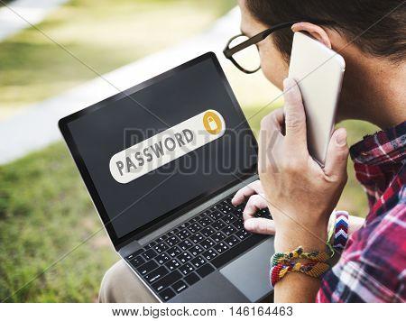 Password Accessible Permission Verification Security Concept