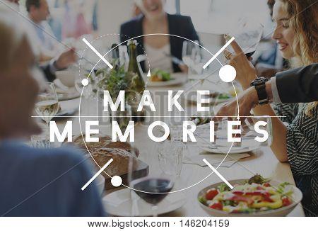 Memories Remember Storage Mind Recalling Concept