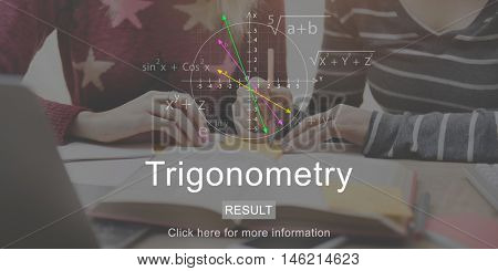 Trigonometry Study Mathematics University College Concept