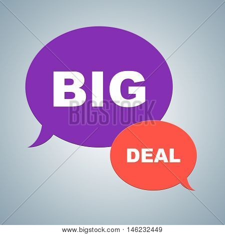 Big Deal Shows Best Deals And Bargains