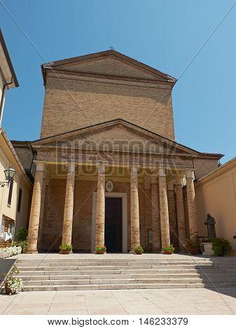 Arcipretale Di San Rocco Church In Ravenna, Italy.
