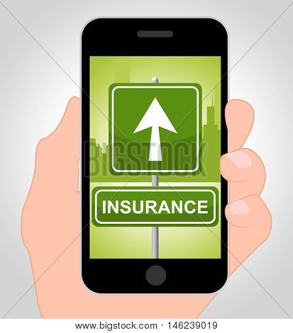 Insurance Online Represents Financial Indemnity And Coverage