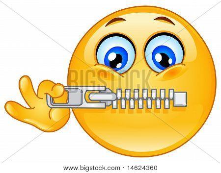Zipper Emoticon