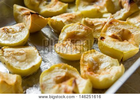 Apples baked to celebrate among the Slavs - Apple Spas