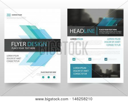 Blue abstract business Brochure Leaflet Flyer annual report template design book cover layout design abstract business presentation template a4 size design
