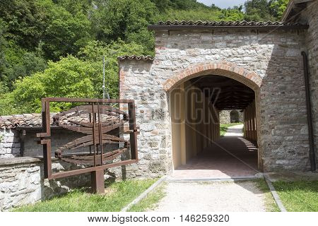 Old Town Gubbio, Umbria, Italy