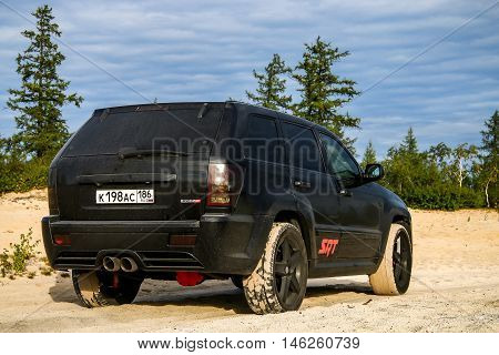 Jeep Cherokee Srt-8